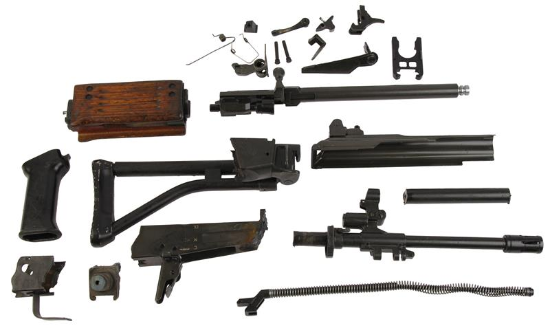 Parts Kit, Galil AR Full Auto .223 Cal, Hand Select, Wood Handguard w/o Magazine