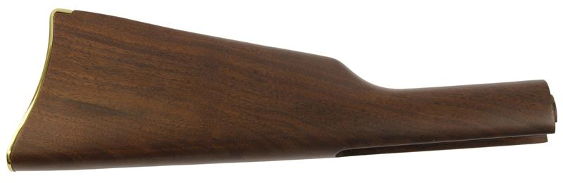 Stock, Walnut w/Gold Buttplate, New Factory