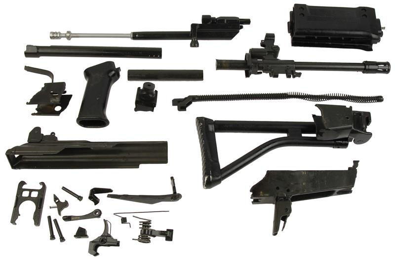 Parts Kit, .223 Cal, Full Auto, Used, Hand Select w/o Magazine