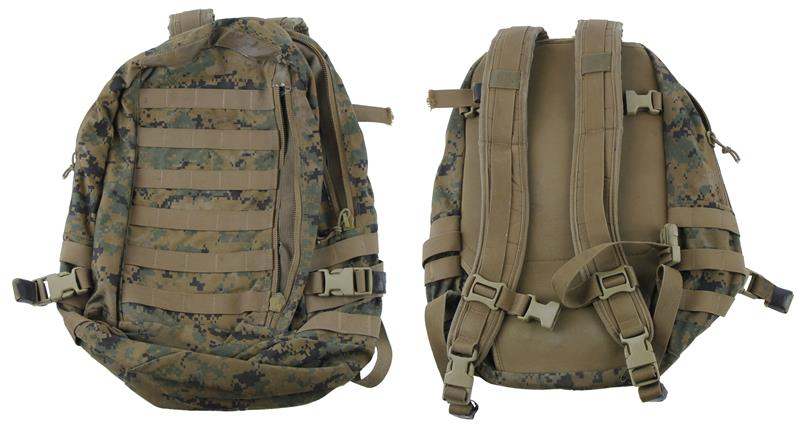 Assault Pack, MOLLE, USMC ILBE (Improved Load Bearing Equipment), Used