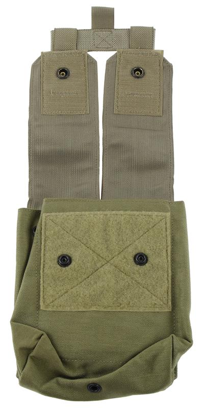 Ammo Pouch w/ Flaps, SAW, MOLLE, 200 Round, New, Eagle Industries