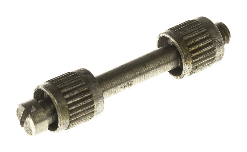 Grip Screw & Escutcheon Set, Nickel (Screw & Female Escutcheon are 5x40 TPI