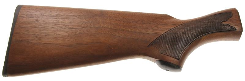 Stock, 12 & 20 Ga, Checkered Walnut w/Buttplate, Used Factory