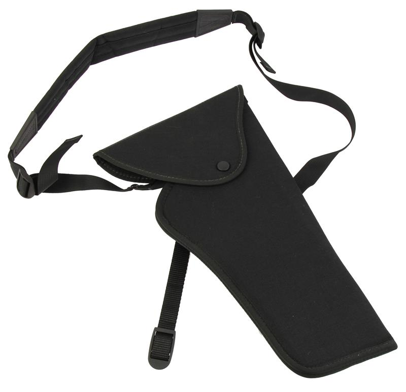 Bandolier Hunting Holster, RH, Size 4, Black Nylon, New Uncle Mike's