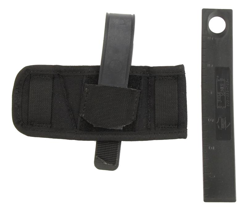 Baby Bet Holster, Ambidextrous, Black Nylon, New Uncle Mike's
