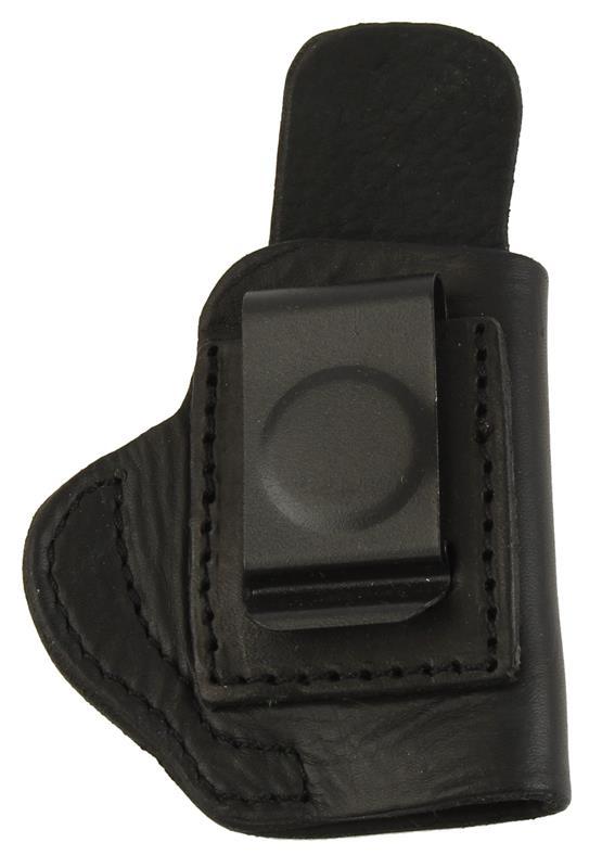 Holster, RH, Blued Metal Belt Clip, Black Leather, New Tagua Mfg  | Gun