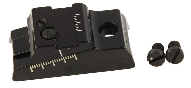 Rear Sight Base & Elevation Slide, Small .660 - .730, Williams Guide Open, New