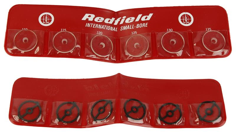 Front Sight Inserts, Small Bore, 12 Pc, New Redfield International