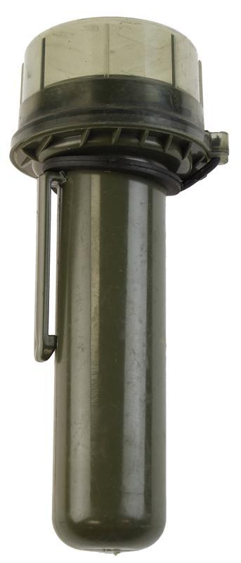 Grenade Tube, Belgian Military, OD Plastic, Used