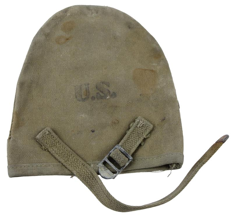Carry Cover, U.S. M1910 T Handle Shovel, Canvas, Condition & Markings Vary