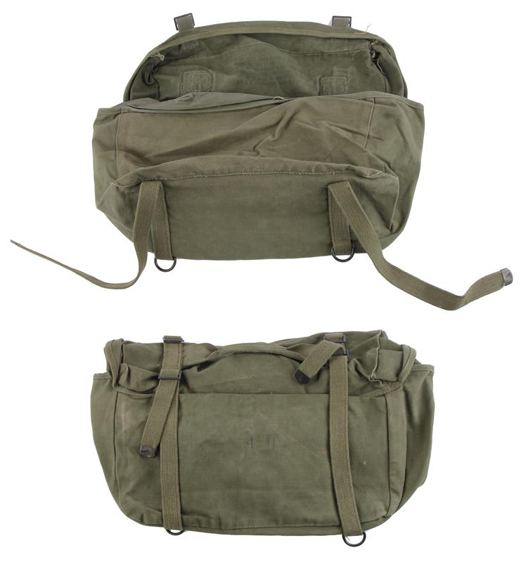 Cargo Field Pack, M1945, US OD Canvas, Used