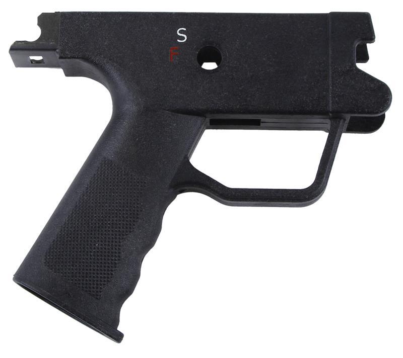 Trigger Housing,Stripped, S-F (Safe/Semi) Black Plastic, Used, U.S. Made