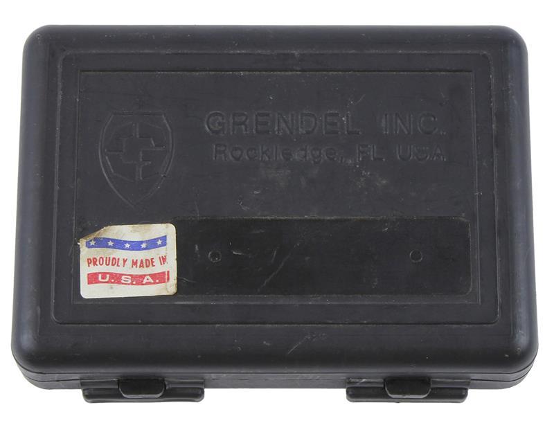 Gun Case, Black Plastic, Used Factory Original