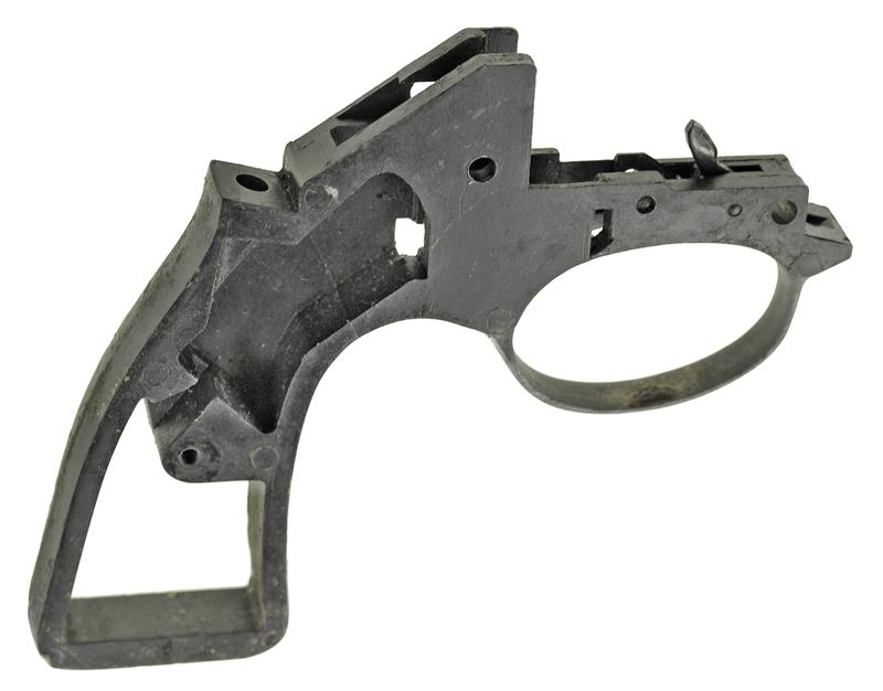 Handle, Blued (Grip Frame), Used, Original