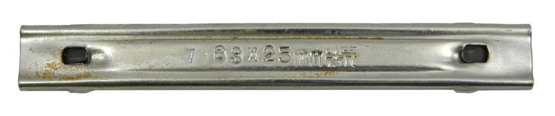 Stripper Clip (Original Chinese Arsenal Manufactured; Marked 7.63 x 25mm)