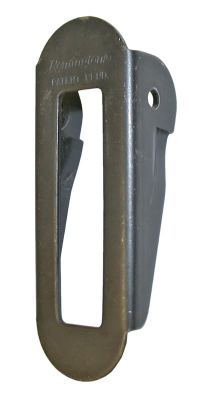 Folding Stock Buttplate, New Original, Blued Steel (5-1/4