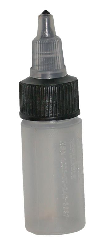 Oil Squeeze Bottle, LSA Weapons - 1/2 Ounce Refillable, New Original (No Oil)