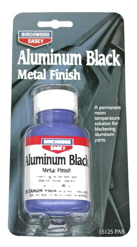 Aluminum Black Metal Finish-Fast Acting Touch-Up To Blacken Aluminum Surfaces