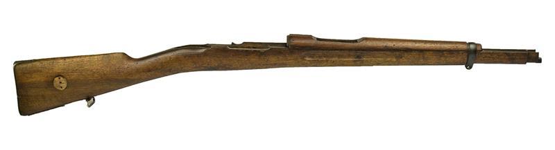 Stock & Handguard Set, Short Rifle, Walnut, Used Orig (w/Handguard Band w/Swiv)
