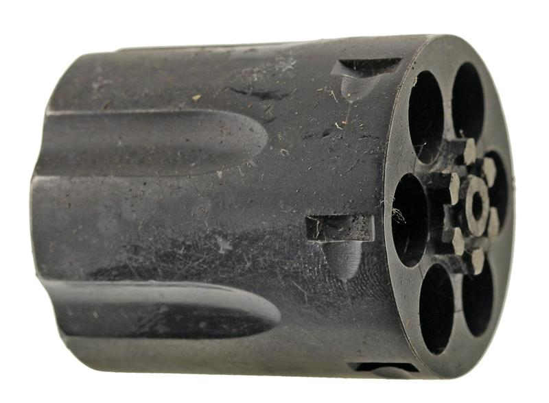 Cylinder Assembly,.357 Mag.,6 Shot,LH Thread,Not Counterbored,Blued w/Gas Ring