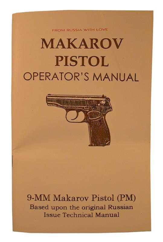 Makarov Pistol Operator's Manual