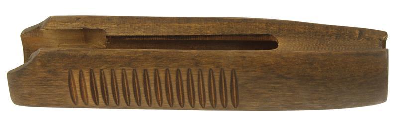 Forend, 12 U0026 16 Ga., Double Bar Type, Ribbed, Oil Finish, New.  Manufacturer: MOSSBERG. Model: 500