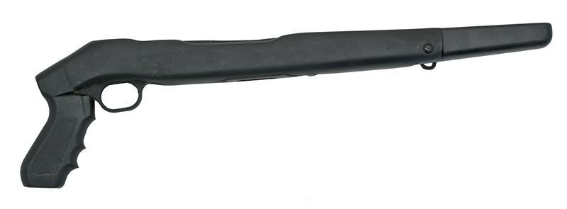 Stock, Blk Hwd w/Pistol Grip,Front Folding Grip,Trg Grd & 1