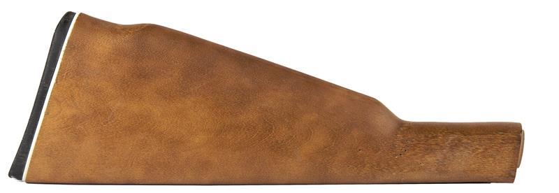 Stock, Straight Grip, Uncheckered Hardwood