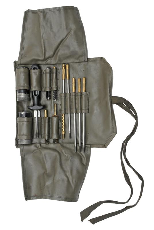 Cleaning Kit, .30 Caliber, Swiss Military, Used, Good to VG