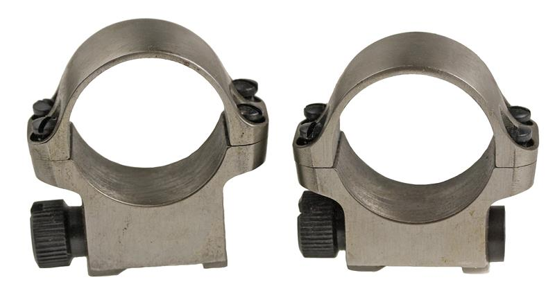 Scope Rings, Pair, Medium (42MM Lens), Stainless, Factory, New