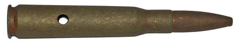 Dummy Ammo, .50 Cal. Brass, Israeli Mfg. Brass Case,Fully Inert. 5-5'' OAL, Used