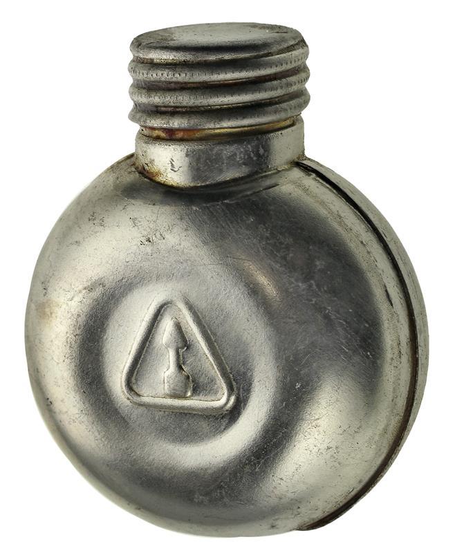 Oil Bottle, Metal (Round)
