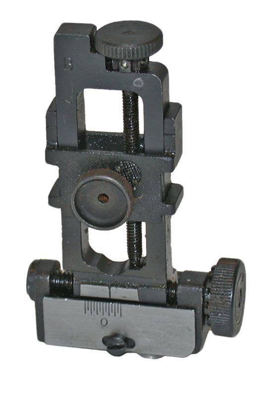 Rear Sight Assembly - New, Original, Blued, Adjustable For Windage & Elevation