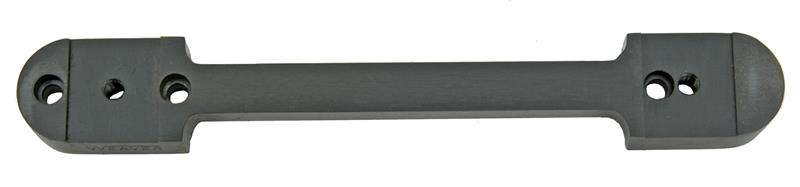 Top Mount, Weaver 1 Pc., w/ Mounting Screws - Requires All Steel Rings