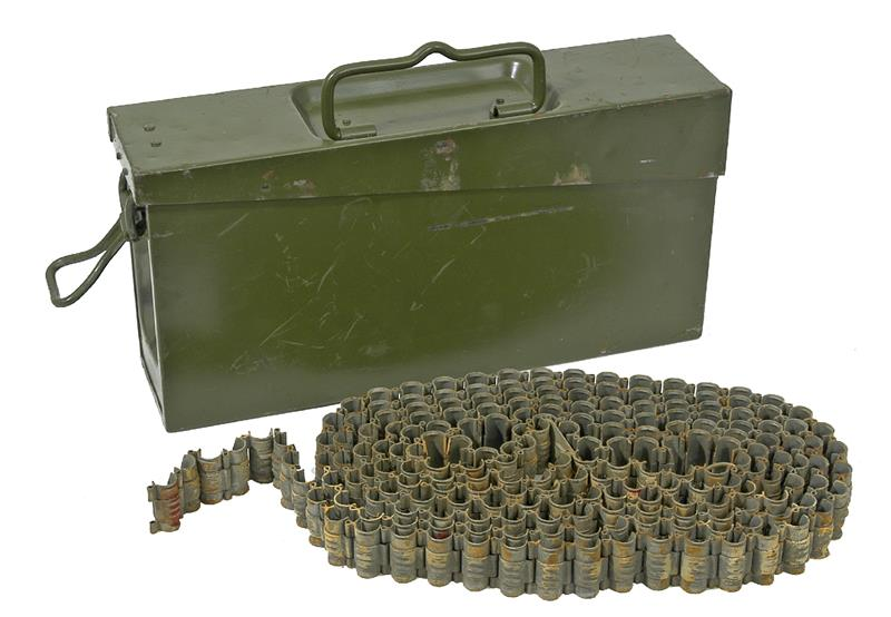 Ammo Belt Can, German ZB-37 8mm Magazine Gun