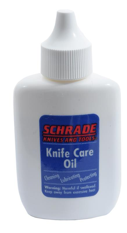 Schrade Knife Care Oil, 1.25 oz., Squeeze Bottle