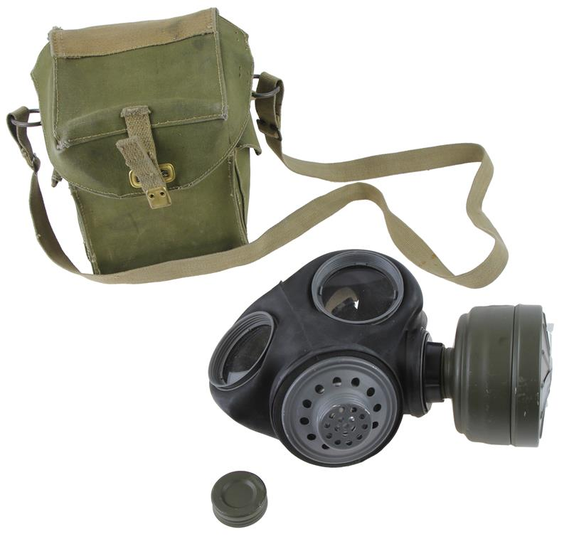 Gas Mask Set, British WWII, New