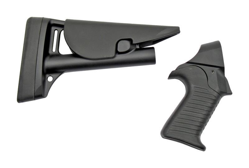 Stock, 12 Ga. Telescoping & Pistol Grip Set