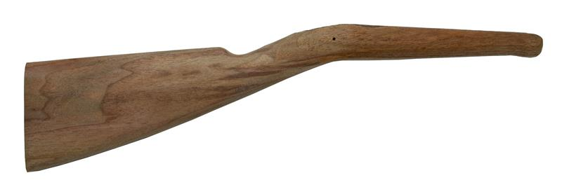 Stock, Semi-Finished, Walnut, Contoured for Large Flat Shotgun Buttplate