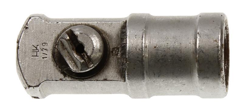 Blank Firing Adaptor, Stamped HK & Dated