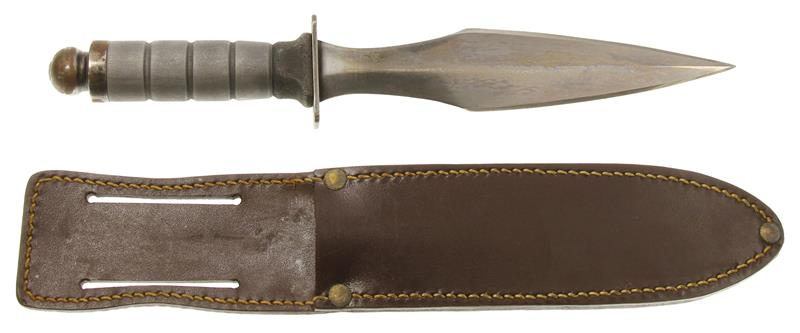 WWII G.I. Spear Point Fighting Knife