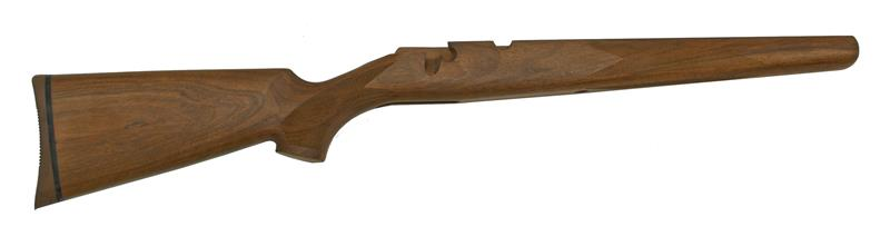 Stock, Long Action, Right Hand, Checkered Walnut, w/ Rifle Pad