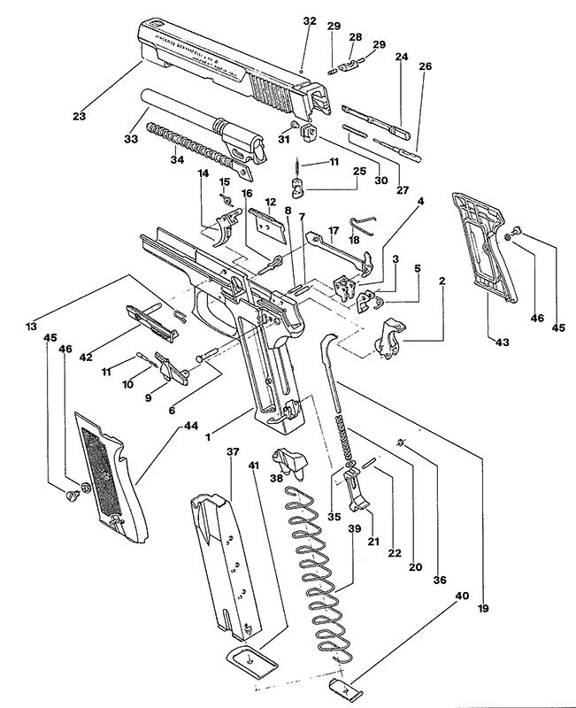 Bernardelli Gun Parts