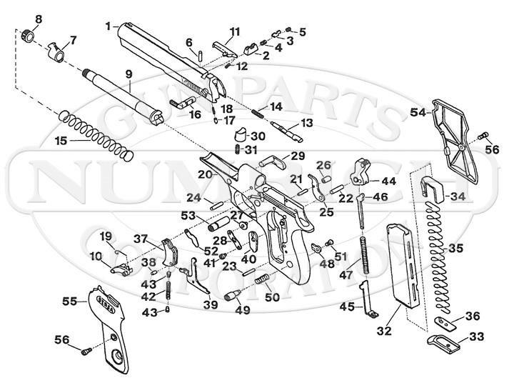 Bersa Gun Parts