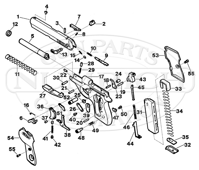 Bersa Gun Parts | Numrich Gun Parts