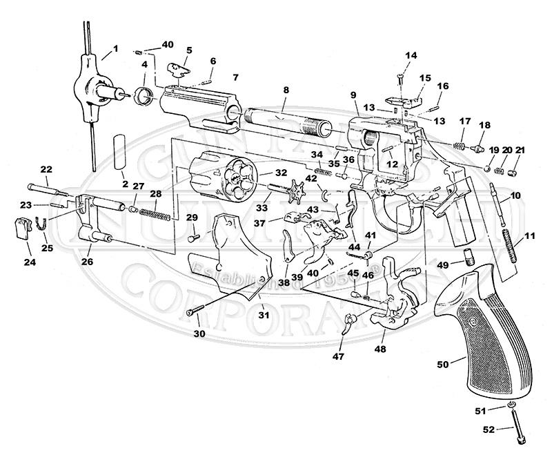 Dan Wesson Gun Parts   Numrich Gun Parts