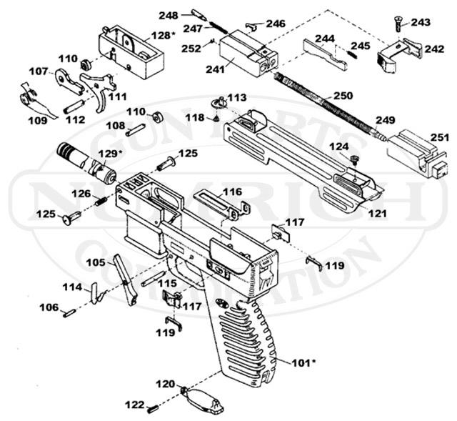 Intratec Gun Parts