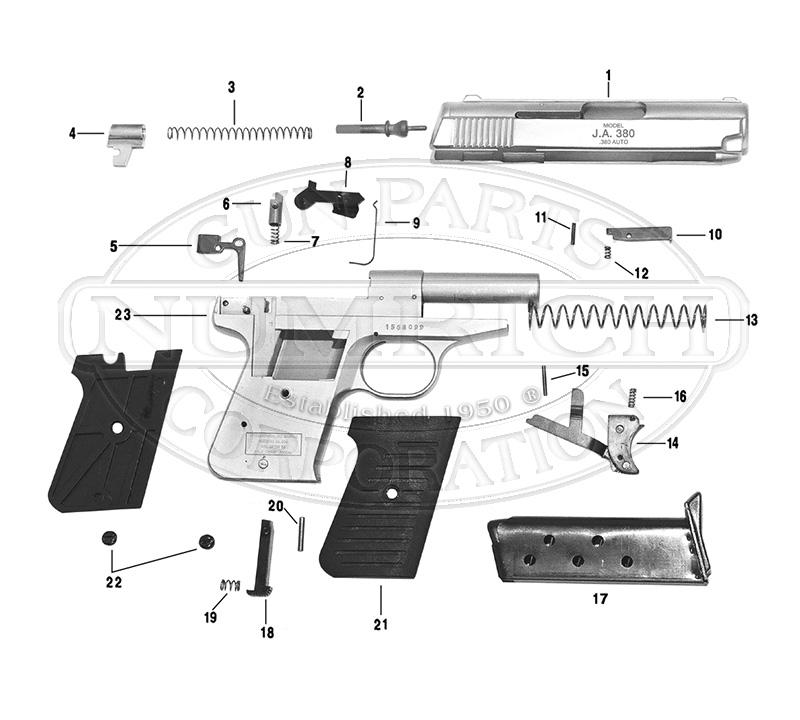 Jimenez Arms Gun Parts | Numrich Gun Parts