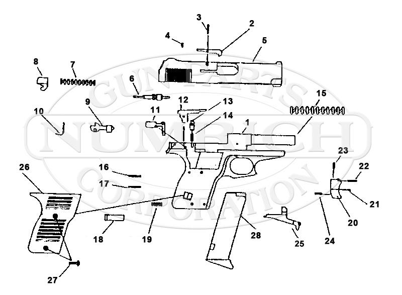 Lorcin Gun Parts   Numrich Gun Parts