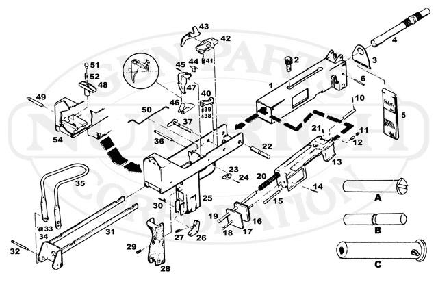Cobray M-12 380 Semi-Auto Parts | Firearm Parts & Accessories ...